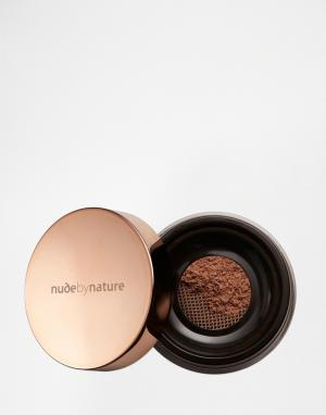 Nude by Nature Рассыпчатый бронзатор Natural Glow. Цвет: рыжий