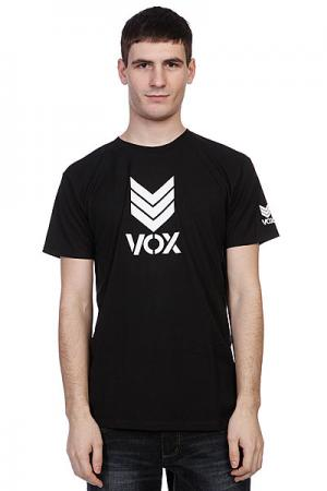 Футболка Vox Trademark True Black. Цвет: черный
