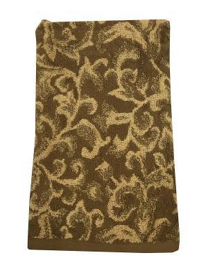 Полотенце A and C Collection. Цвет: коричневый