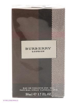 Туал. вода муж. BURBERRY LONDON FOR MEN 50 мл (спрей). Цвет: коричневый