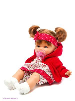 Кукла Кристи плачущая Antonio Juan. Цвет: красный