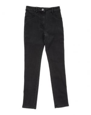 Джинсовые брюки EDDIE PEN. Цвет: черный