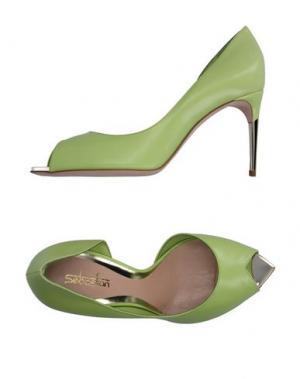 Туфли SEBASTIAN. Цвет: светло-зеленый