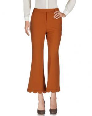 Повседневные брюки SIMONA CORSELLINI. Цвет: коричневый