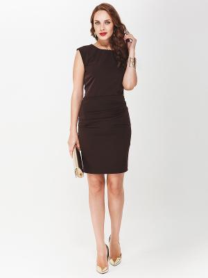 Платье La vida rica. Цвет: темно-коричневый