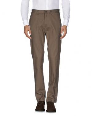 Повседневные брюки CLUB MONACO. Цвет: зеленый-милитари