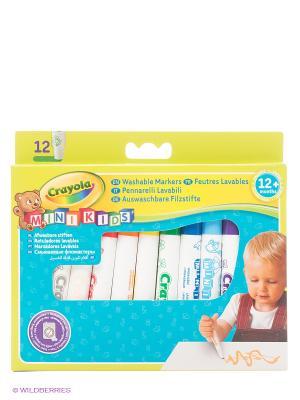 Набор цветных фломастеров для малышей Crayola. Цвет: белый