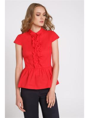 Блузка Concept Club. Цвет: красный