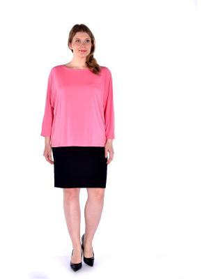 Блузка LikModa. Цвет: розовый
