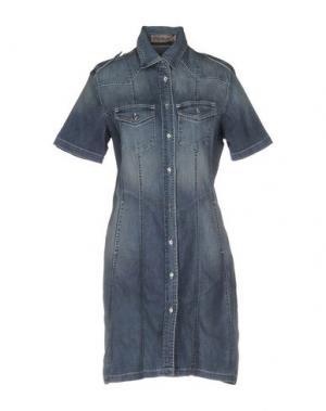 Короткое платье NELL&ME. Цвет: синий