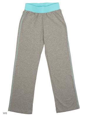 Спортивные брюки Modis. Цвет: серый, бирюзовый