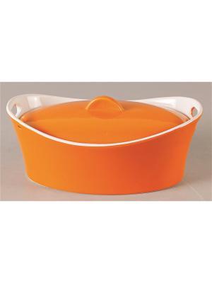 Кастрюля Appetite. Цвет: оранжевый