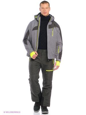Куртка CMP. Цвет: светло-серый