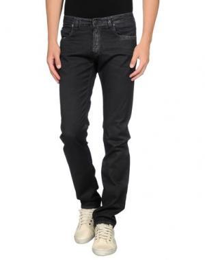Повседневные брюки CELLAR DOOR. Цвет: стальной серый