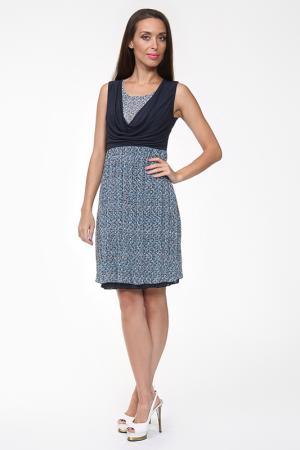 Платье Evalinka. Цвет: синий