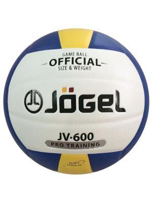 Мяч волейбольный Jogel JV-600. Цвет: синий