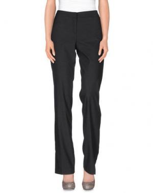Повседневные брюки MER DU NORD. Цвет: свинцово-серый