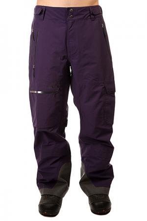Штаны сноубордические  Gear Eagle Purple Trew. Цвет: фиолетовый