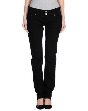 Повседневные брюки NOLITA DE NIMES. Цвет: черный