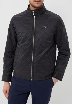 Куртка утепленная Gant. Цвет: черный