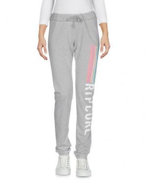 Повседневные брюки RIPCURL. Цвет: серый