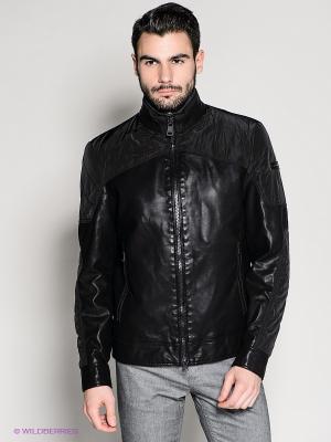 Куртка 18CRR81 CERRUTI. Цвет: черный