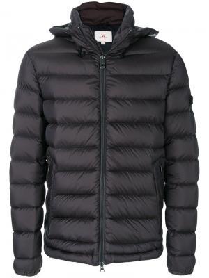 Пуховая куртка Peuterey. Цвет: серый