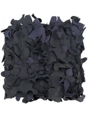 Стилизованный шарф Maria Calderara. Цвет: синий