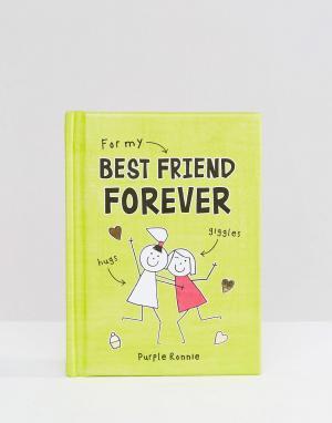 Books Книга For My Best Friend Forever. Цвет: мульти