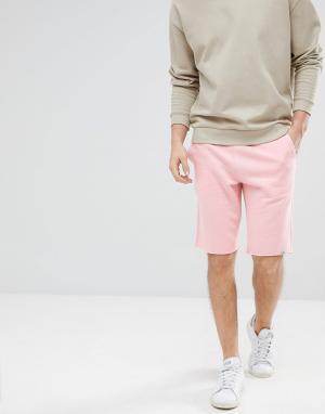Jack & Jones Трикотажные шорты Originals. Цвет: розовый