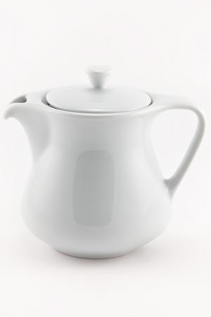 Чайник с крышкой Royal Porcelain. Цвет: белый