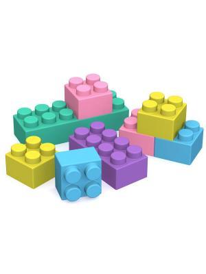 Конструктор ШКОДА 108 деталей Нордпласт.. Цвет: фиолетовый, желтый, розовый