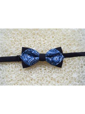 Галстук-бабочка BOB Accessories. Цвет: черный, синий