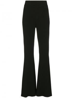 Расклешенные брюки с завышенной талией Beaufille. Цвет: чёрный