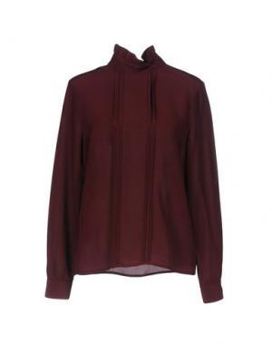 Блузка SONIA DE NISCO. Цвет: красно-коричневый