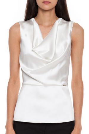 Блуза Simple. Цвет: белый