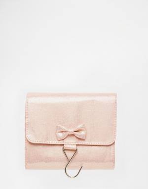 Bombay Duck Раскладывающаяся дорожная сумка с бантиком. Цвет: розовый