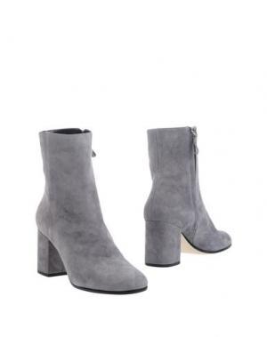 Полусапоги и высокие ботинки FRATELLI KARIDA. Цвет: серый