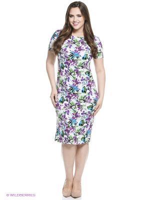 Платье Alego. Цвет: сиреневый