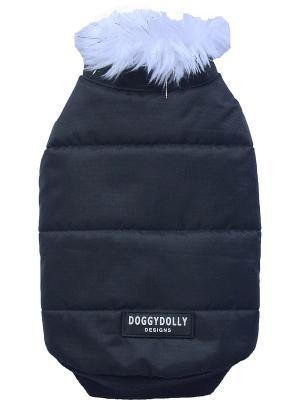 Пальто Doggy Dolly. Цвет: черный