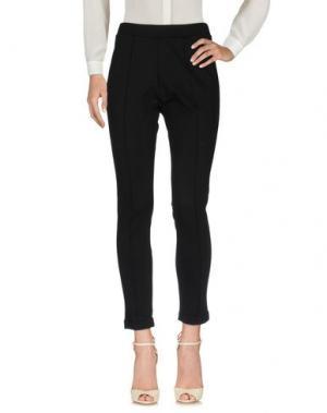 Повседневные брюки SELEZIONE BASICA. Цвет: черный