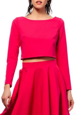 Блуза BeWear. Цвет: розовый