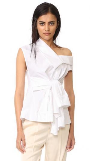 Рубашка Waldorf Acler. Цвет: белый