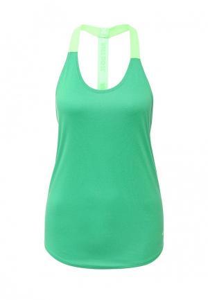 Майка спортивная Nike. Цвет: зеленый