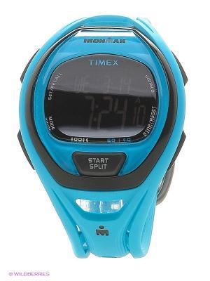 Часы TIMEX. Цвет: голубой