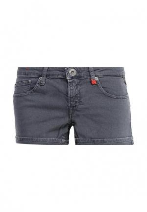 Шорты джинсовые Replay. Цвет: серый
