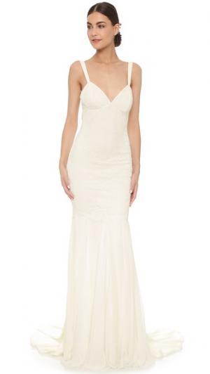 Вечернее платье Monaco Katie May. Цвет: золотой