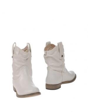 Полусапоги и высокие ботинки MISS ROBERTA. Цвет: светло-серый