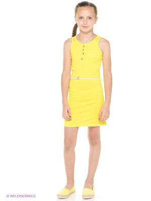 Платье GARCIA. Цвет: желтый