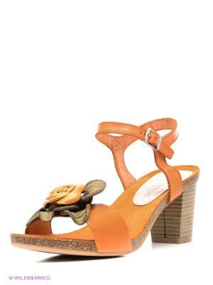 Босоножки El Tempo. Цвет: оранжевый